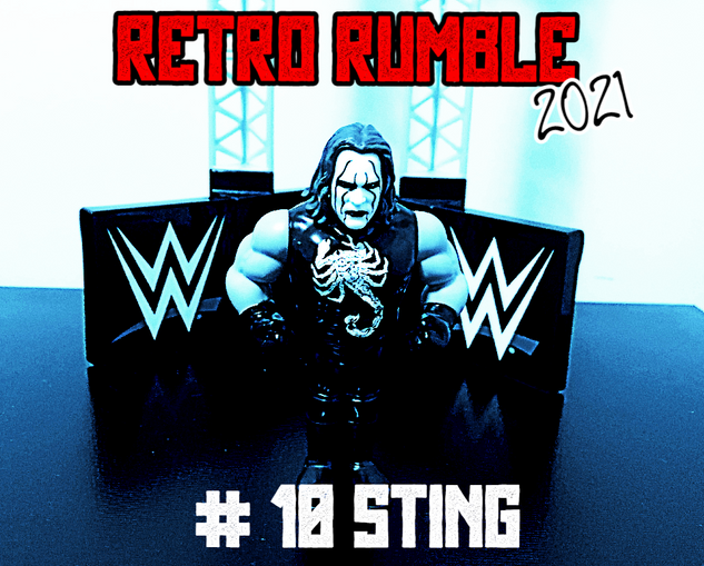 It's STING! (tm Tony Schiavone). The legendary Sting makes his way to the ring and all of a sudden, this match got a whole lot more intere-STING (see what we did there?).