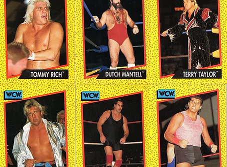 Card Corner: WCW Stomp Collection