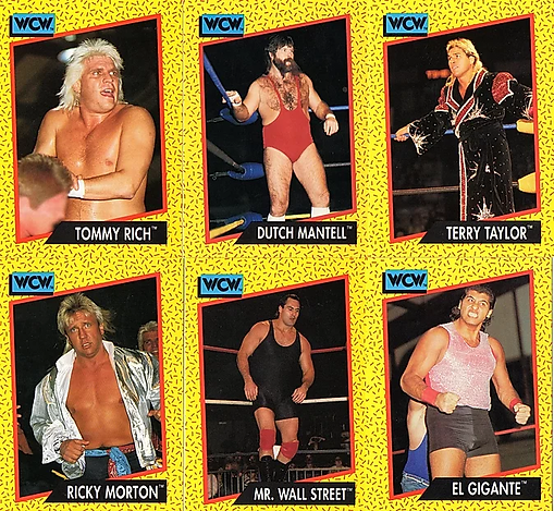WCW Stomp Collection