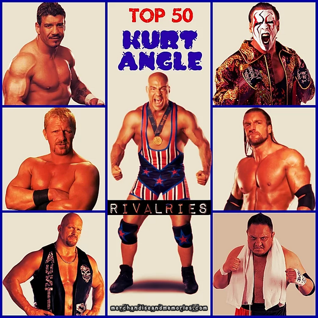 Top 50 Kurt Angle Rivalries