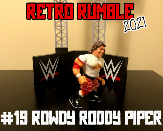 Rowdy Roddy Piper! Hot Rod is here! Can he be the difference maker in this match?