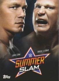 Topps WWE SummerSlam 2019