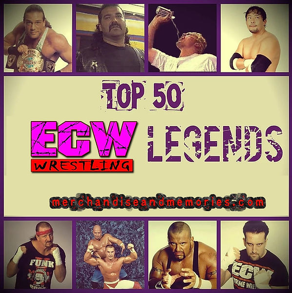 Top 50 ECW Legends