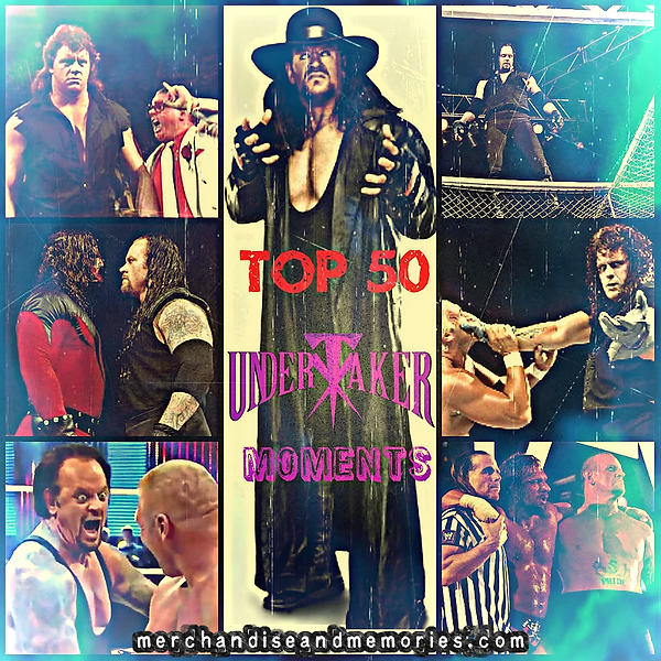 Top 50 Undertaker Moments