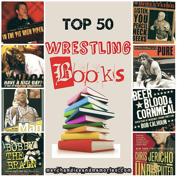 Top 50 Wrestling Books
