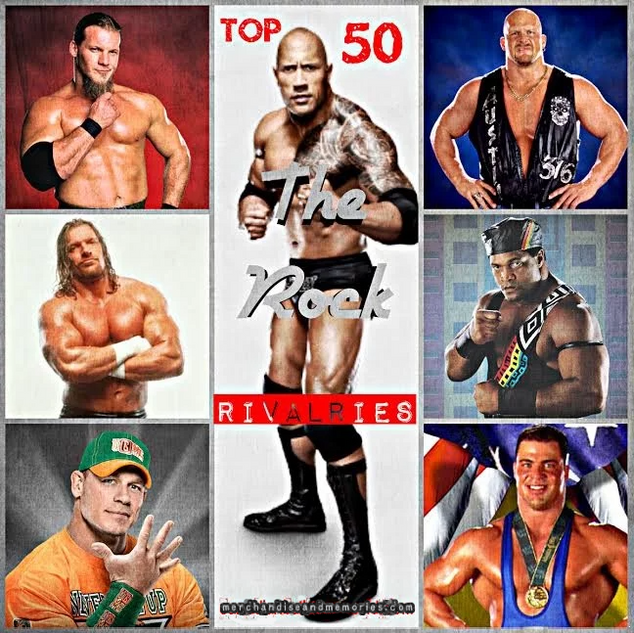 Top 50 The Rock Rivalries