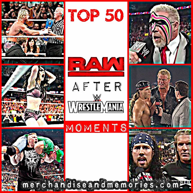 Top 50 Raw After WrestleMania Moments