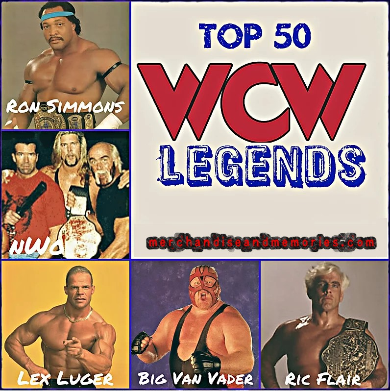 Top 50 WCW Legends