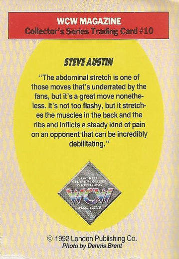 Steve Austin rookie card