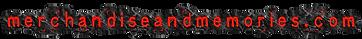 Merchandise and Memories logo