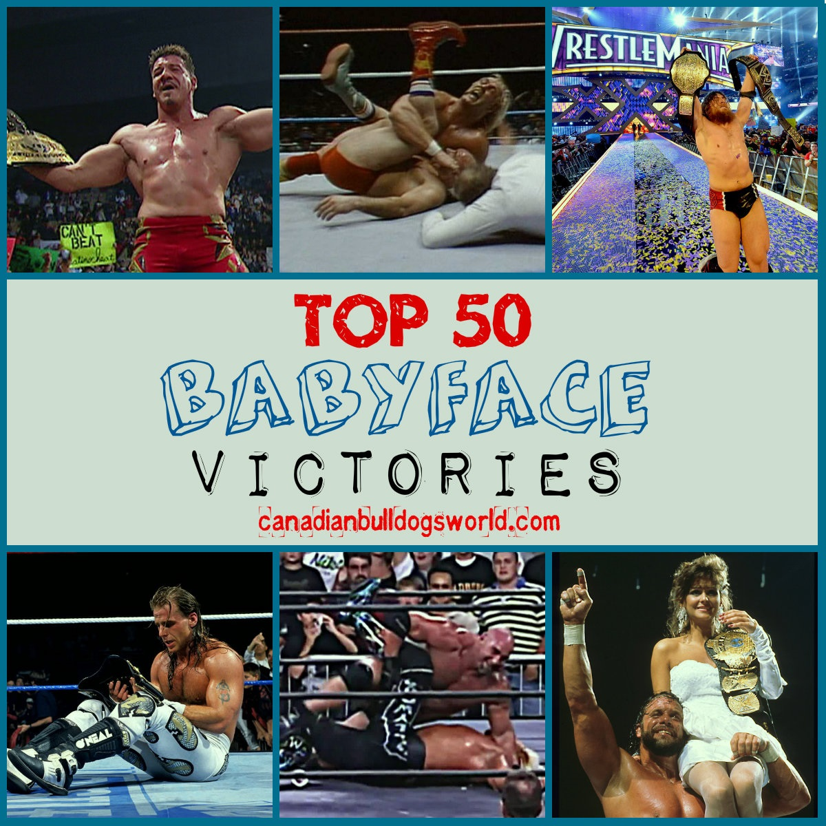 Top 50 Babyface Victories