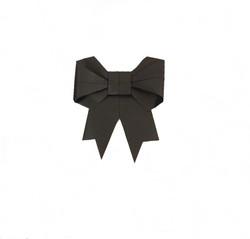Black Mini Bow