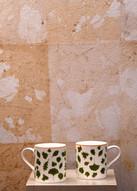 Misure  26 x 9 Tazza ceramica smaltata