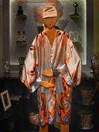 20 Taglia unica       Kimono in seta firmata       Seta pura