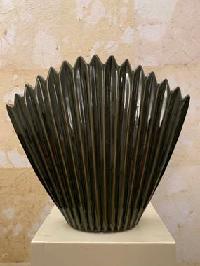 Misure l 34,5 x  p 8 x h 30,5    Vaso Vegetale    Ceramica