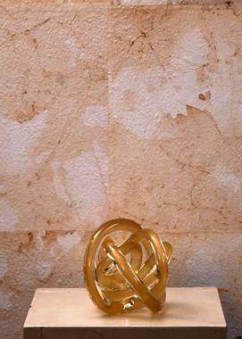 Misure  15 x 15  Oggetto ornamentale Murano '900 Vetro soffiato