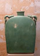 Misure 40 x 30 Vaso celadon grande  Ceramica craquele