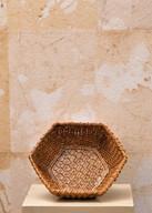 Misure 19 x 19  Ciotola intreccio Ceramica