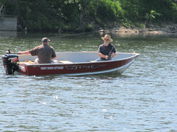 Fishing on the Trent River