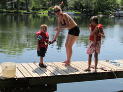 Learning to Fish with Mom