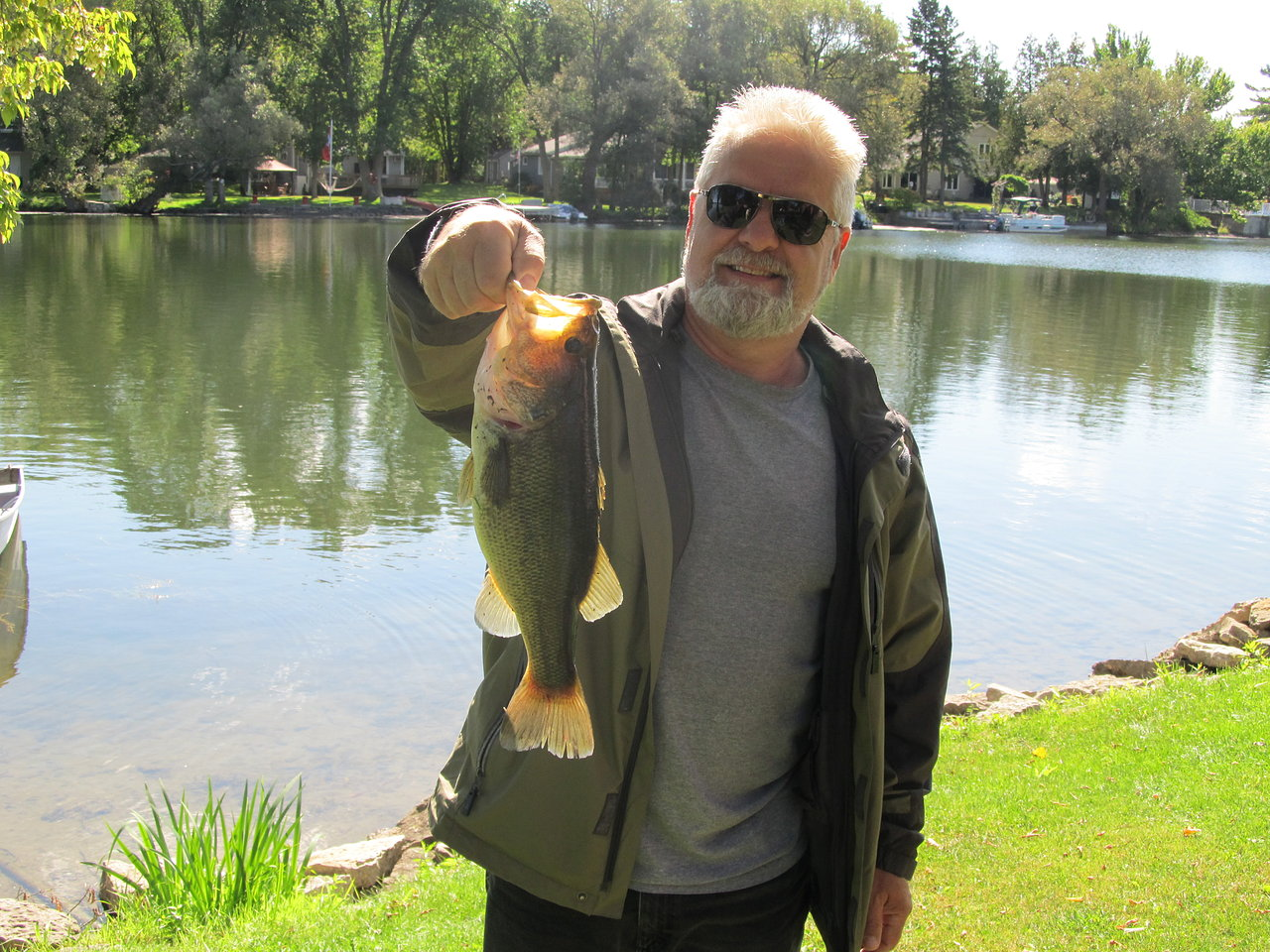 Brad with Fish