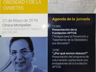 """VII Jornada pacientes para pacientes """"DÍa europeo de la Obesidad""""."""