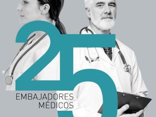 El Dr. Resa propuesto por el Ilustre Colegio de Médicos de Zaragoza como uno de los médicos más pres