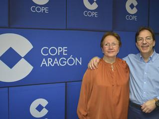 Entrevista al Dr. Resa y la Dra. Bono en COPE Aragón Febrero 2016