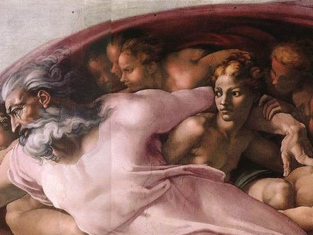 Women of The Sistine Chapel: Divine Androgyny and God's Right-Hand Woman