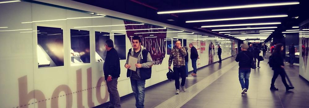 New Subway Station San Giovanni, St John Lateran