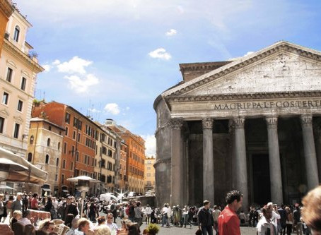 The Imperfect Perfection Of The Pantheon In Rome