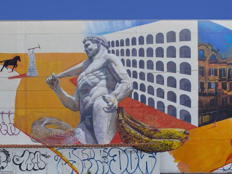 The Dazzling Street Art of the Ostiense District