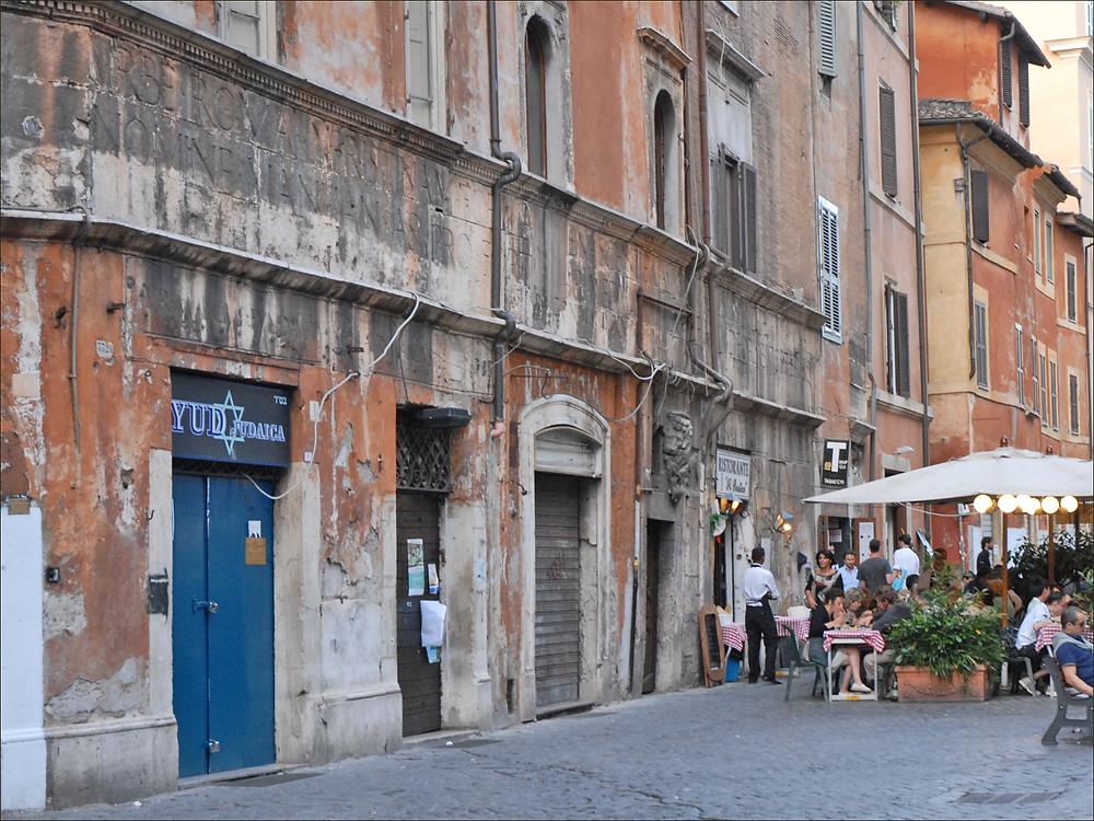 Jewish Ghetto Rome, Jewish Cultural Heritage Rome