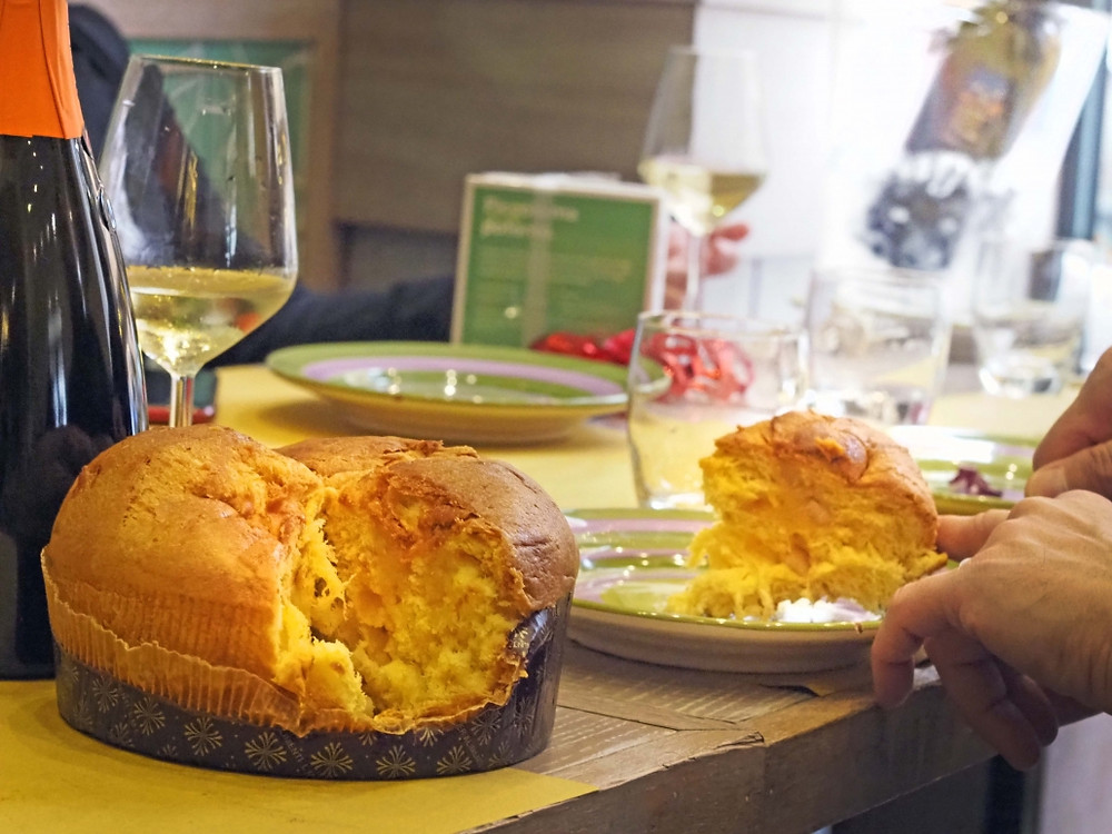 Eating Panettone is an amazing food experience