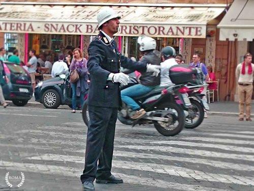 drive in rome, street, people