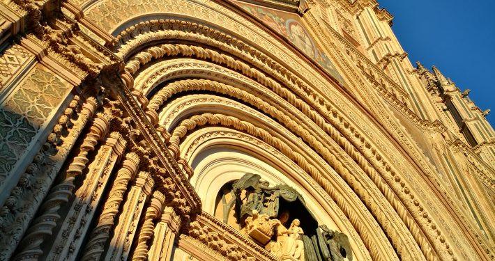 Exterior of the Duomo of Orvieto