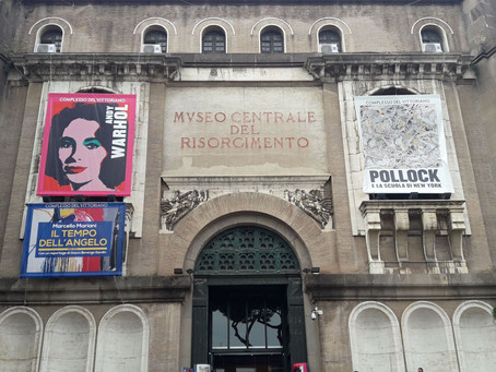 Modern American Art in the Heart of Rome's Historic Centre