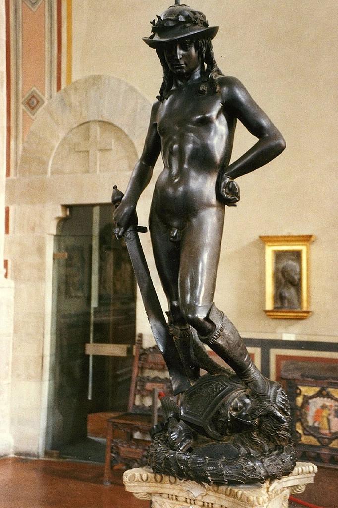 Donatello's Bronze sculpture, David