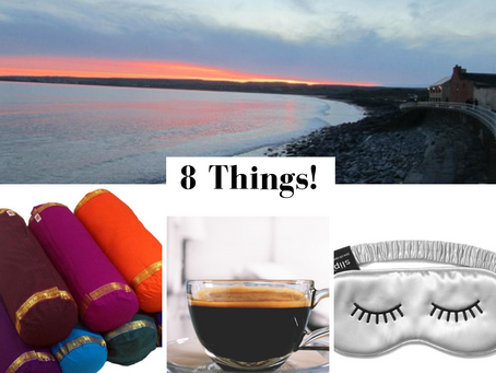 The Urban Yogi - Geraldine O'Neill shares her 8 Things!