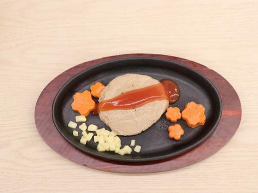 【日式軟餐料理系列】照燒漢堡扒軟餐食譜