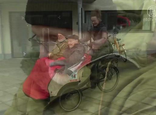 【樂活北歐】丹麥安老院長者不孤單 坐三輪單車遊覽社區