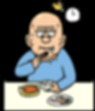 老人,進食,吞嚥困難徵狀