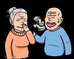 老人,吞嚥困難徵狀,異味