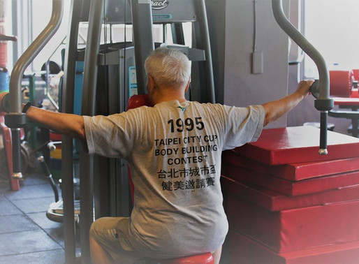【迎進新聞】31年風雨不改去健身室  93歲伯伯練出健康體魄