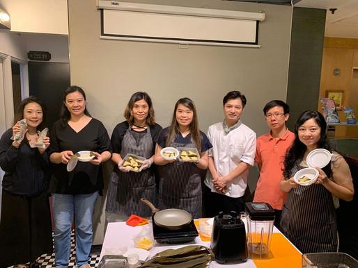 【活動花絮】端午溫情一口粽軟餐製作班