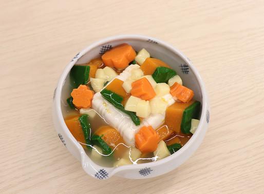 【日式軟餐料理系列】南瓜豆腐野菜煮軟餐