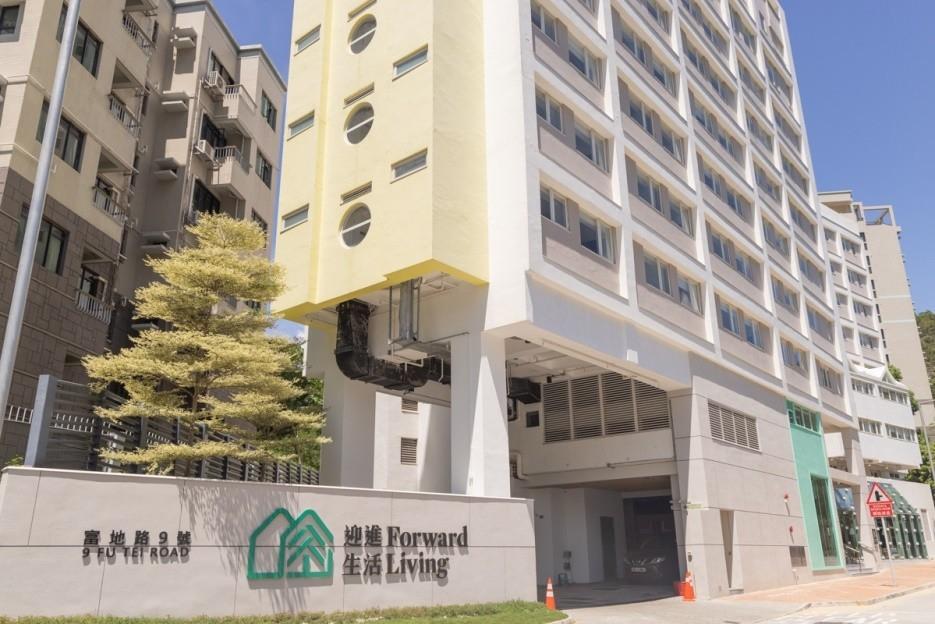 團隊選擇於屯門富地路打造安老院舍是因為有便利的交通,而且附近設有大學,希望有機會做到社區共融。