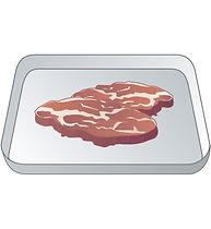 食倍樂Meat,瀝乾水份,肉