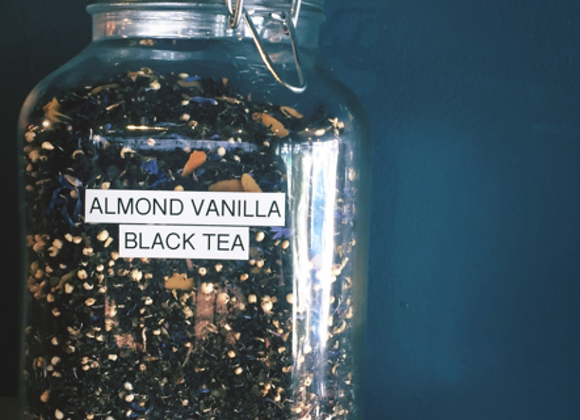 Almond Vanilla Black Tea