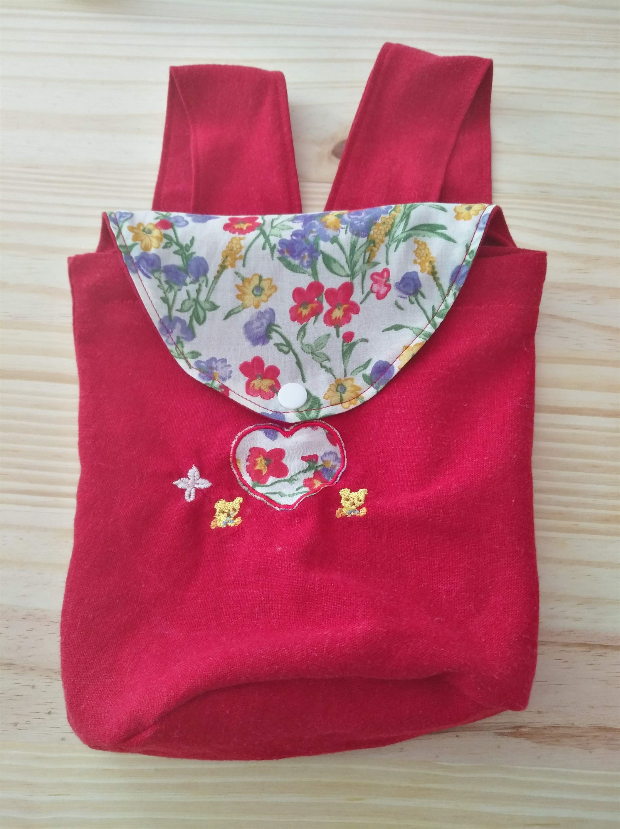 sac-a-dos-upcycle-rouge